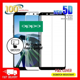 Oppo R9S 5D Full Cover 9H Hardness Tempered Glass
