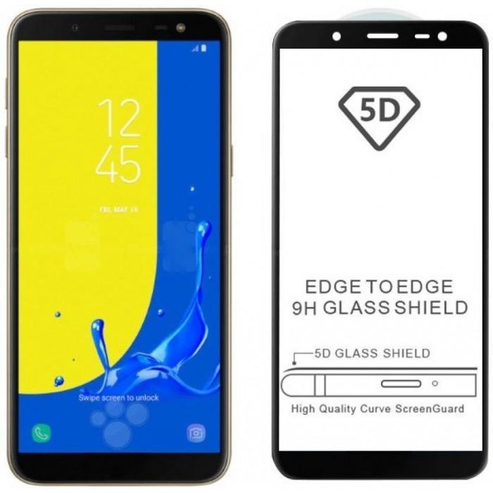 Samsung Galaxy J2 Core, J4, J4 Plus, J6, J6 Plus, J7 Prime, J8 5D Full Cover 9H Hardness Tempered Glass