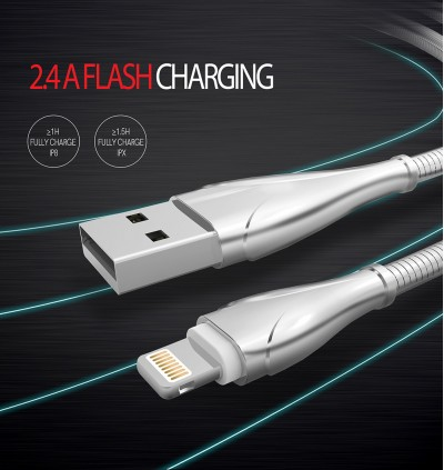 LDNIO LS23 LS28 LS29 Lightning iPhone High Speed & Fast Charging Speed Data Sync USB Cable