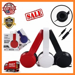 [SPECIAL SALES ] J-08 Harman Headphone Stylish Adjustable HiFi Audio EXTRA BASS MP3 Music Gaming With Mic Handfree