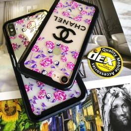 iPhone 6/6S, 6 Plus/6S Plus Beautiful Floral Flower Transparent Case