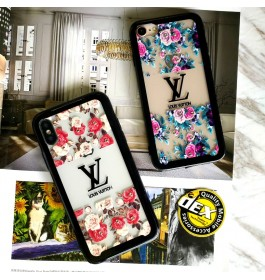 iPhone 7/8, 7 Plus/8 Plus Beautiful Floral Flower Transparent Case
