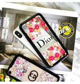 iPhone X Beautiful Floral Flower Transparent Case