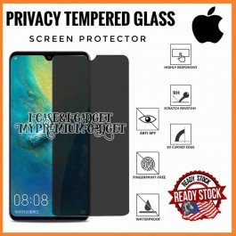 [PRIVACY] iPhone 4/4S, 5/5S/5C/SE, 6/6S, 6 Plus/6S Plus, 7/8, 7 Plus/8 Plus, X/XS, XR Anti Spy Full Glue 9H Hardness Tempered Glass