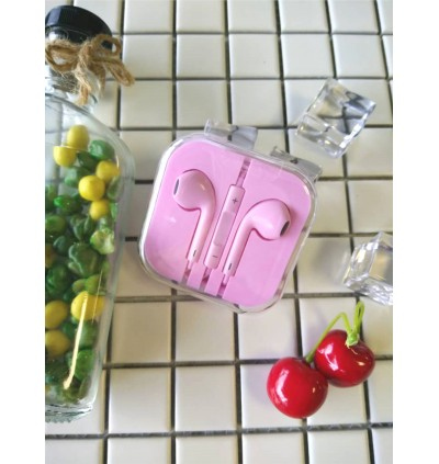 Colour Headphone Earphone Hands-free for iPhone