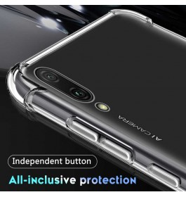 Huawei Honor 6A, 7X, 8C, 9 Lite, 10, 20 TPU Transparent Anti Shockproof Silicone Airbag Case