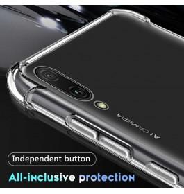 Huawei Mate 9, Mate 9 Pro, Mate 10, Mate 10 Pro, Mate 20, Mate 20 ProTPU Transparent Anti Shockproof Silicone Airbag Case
