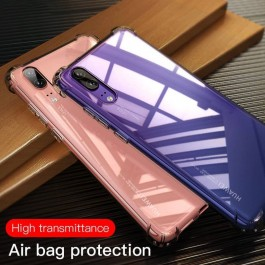 Huawei P10, P10 Lite, P10 Plus, P20, P20 Pro, P30, P40, P40 Pro TPU Transparent Anti Shockproof Silicone Airbag Case