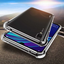 Huawei Y3ii, Y5ii, Y5 2019, Y6ii, Y6 (2018), Y7 Prime, Y9 Prime TPU Transparent Anti Shockproof Silicone Airbag Case