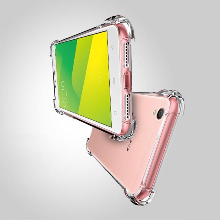 Oppo A3S, A33, A35, A37, A57, A59, A71, A77, A83 Crystal Clear TPU Transparent Case
