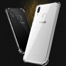 Vivo V5/Y67, V5 Plus, V7, V7 Plus, V9/Y85, V11 Crystal Clear TPU Transparent Case