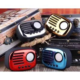 Classic Retro A4 Multi Function Portable Wireless Bluetooth Speaker Radio