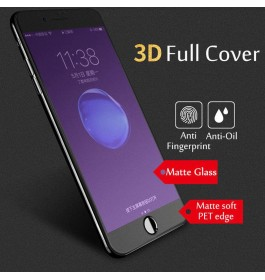 iPhone 6/6S,6 Plus/6S Plus,7/8,7 Plus/8 Plus,X,XS Max Anti Blue Ray Matte Anti Fingerprint Full Cover Tempered Glass