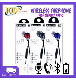 BOROFONE BE11 Magnetic Sports Bluetooth Earphones In-Ear Stereo Earbuds Wireless