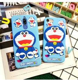 iPhone 5/5S, 6/6S, 7/8 New 3D Cartoon Soft Silicone Case
