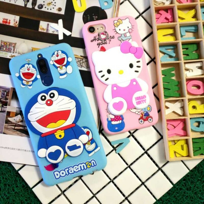 Vivo Y53 Y71 Y81 V9 New 3D Cartoon Soft Silicone Case