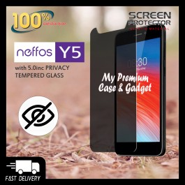 TP-LINK Neffos Y5/Y5S/Y5i Privacy Tempered Glass 5.0 Inch Universal Size