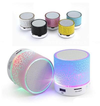 LED Light Mini Speaker Music Sound Box S60U With Wireless Bluetooth