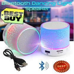 LED Light Mini Speaker Music Sound Box S60U With Wireless Bluetooth