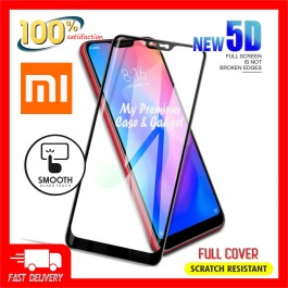 Xiaomi A2, A2 Lite 5D Full Cover 9H Hardness Tempered Glass
