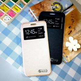 Samsung Galaxy J2 Prime, J5 Prime, J7 Prime Nillkin S View Window Flip Case Cover FREE Tempered Glass