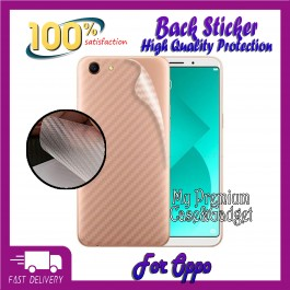 Oppo A1K, A3S, A33, A35, A37, A5S, A57, A59, A77, A83 Back Carbon Fiber Sticker Protection