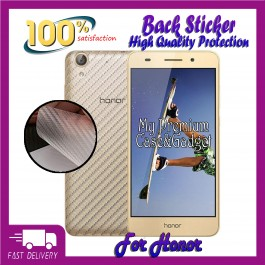 Huawei Honor 5A, 5C, 6A Pro, 7X, 8X, 9 Lite Back Carbon Fiber Sticker Protection