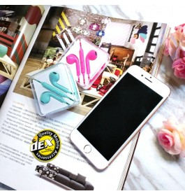 Multi Earphone for iPhone/Samsung/Huawei/Oppo/Vivo With 3.5 mm Headphone Plug