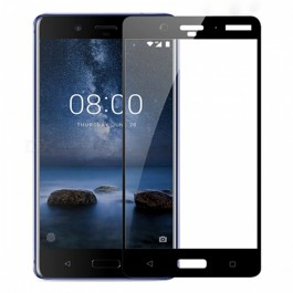Nokia 8 Full Cover 9H Hardness Tempered Glass