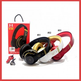 JBL V30 Sport Wireless Over Ear Headphone Stereo HiFi Audio Bluetooth With Mic and EXTRA BASS Headset