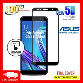 Asus Zenfone Max Pro M1 ZB601 5D Full Cover 9H Hardness Tempered Glass