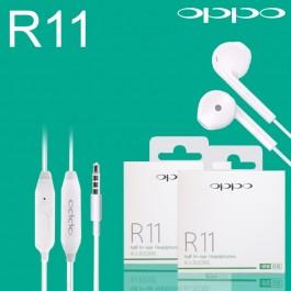 100% Original Equipment Manufacturer Oppo R11 3.5mm Jack Earphones With Mic