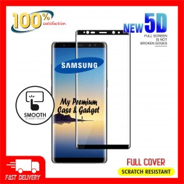 Samsung Galaxy Note 8, 9 5D Full Cover 9H Hardness Tempered Glass