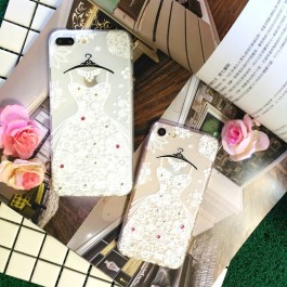 Huawei P10 Lite Transparent Cartoon Fashion Case