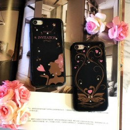 iPhone 5/5S/SE, 6/6S, 7/8 Classic Black Diamond Case