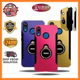 iPhone 5/5S/SE, 6/6S, 6 Plus/6S Plus, 7/8, 7 Plus/8 Plus, X/XS Motomo Hybrid Case Extreme Protection with iRing