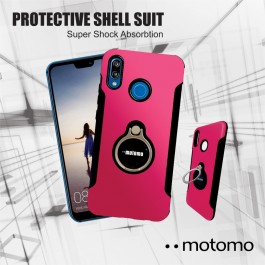 Vivo V7, V7 Plus, V9, V11i Motomo Ring Holder Hybrid Case