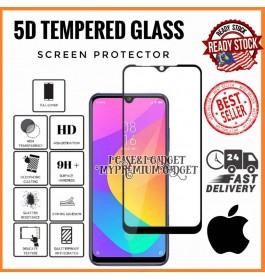 [FULL COVER] iPhone X, XR, XS, XS Max 5D/9D Premium Edge To Edge HD Full Glue Tempered Glass