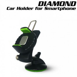 Diamond Car Mount Phone Holder For Smartphone