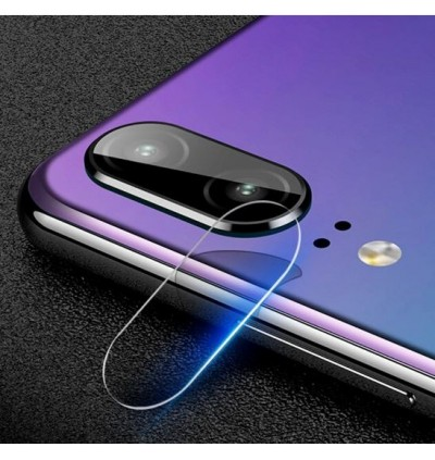 Huawei Y7 Pro, Y9 2019, Y9S 2019 Back Rear Camera Lens Full Cover Glue Clear HD Tempered Glass Protector