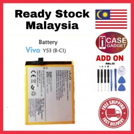 [100% FULL CAPACITY] Battery Vivo Y15, Y21/Y22, Y28/Y31, Y51, Y53, Y55, Y66, Y71, Y81, Y91/Y91i/Y91C/Y93/Y95 High Quality Replacement Spareparts Add-On Tools