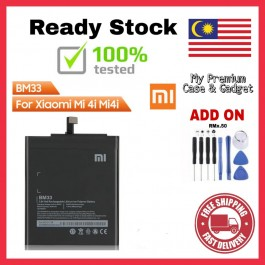 [100% FULL CAPACITY] Battery Xiaomi Mi 2/2S, 3, 4, 4i, 5, 5S Plus BM20 BM22 BM31 BM32 BM33 BM37 High Quality Replacement Spareparts