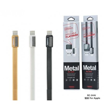 REMAX RC-044i Platinum Data Micro Metal USB Cable for iOS Lightning