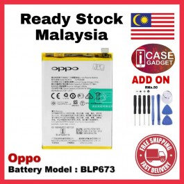[100% FULL CAPACITY] Battery Oppo A1K, A31, A33/Neo 7/A35, A3S/A5S, A37, A57, A59/F1S, A71, A83, A9 2020/A5 2020 High Quality Replacement Spareparts Add-On Tools