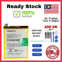 [100% FULL CAPACITY] Battery Oppo R7S, R8207/R1X, R829/R1, R830/R831/R2001/R2010/R2007/Yoyo, R9/F1 Plus, R9S High Quality Replacement Spareparts Add-On Tools