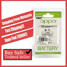 [100% FULL CAPACITY] Battery Oppo Find 7, 7A, X9007, X9077 High Quality Replacement Spareparts