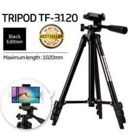 Tripod TF3120 Black Edition Aluminum Alloy Smartphone/Camera/Video Cam