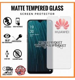 [AG MATTE] Huawei Y9 2019 Anti Fingerprint Full Glue Gaming Tempered Glass