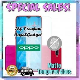 Oppo F5, F7, F9, F11 Pro Matte Anti Fingerprint Tempered Glass