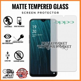 [AG MATTE] OPPO A1K, A3S, A37, A5S, A59, A71, A83  Anti Fingerprint Full Glue Gaming Tempered Glass
